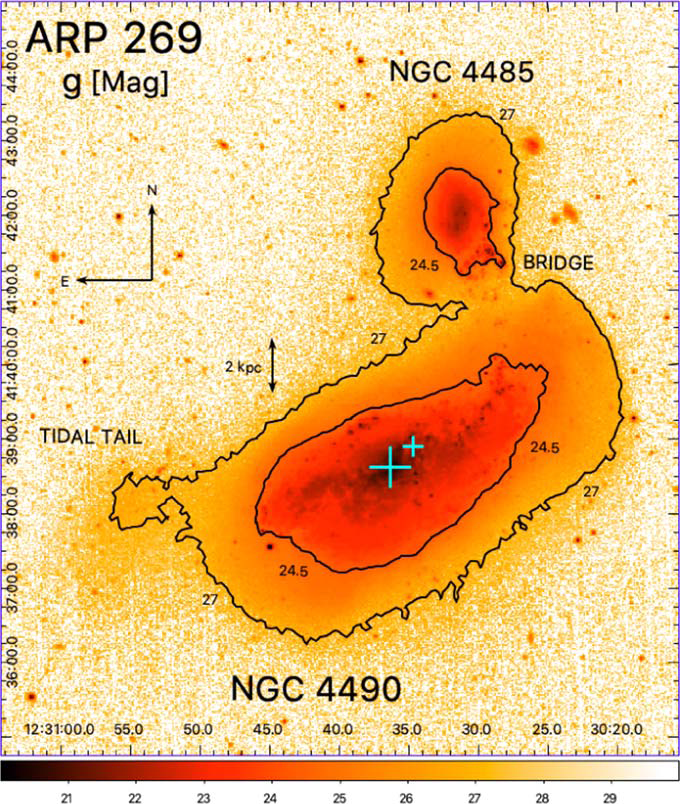 amateur-astronomer-discovered-a-rare-double-core-near-the-nearby-cannibal-galaxy