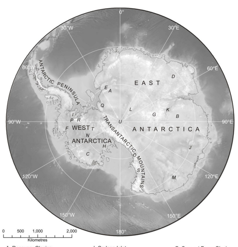 map-of-the-mainland-structure-of-antarctica-and-the-deepest-point-of-land