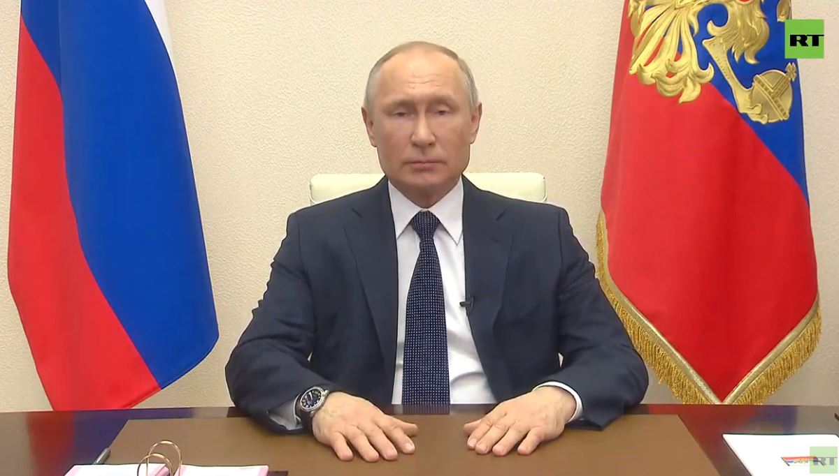 "vladimir-putin's-second-address-to-the-people-in-connection-with-covid-19:-""non-working-days""-regime-extended-to-april-30"