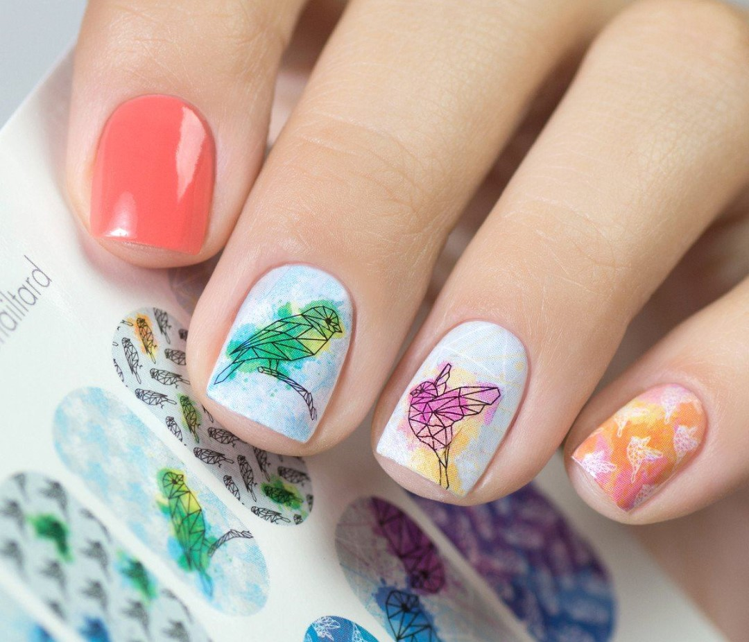 colorful-nail-design:-the-best-combination-of-shades,-design-ideas-in-the-photo