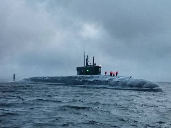 "nuclear-submarine-""prince-vladimir""-passes-control-tests-in-the-white-sea"