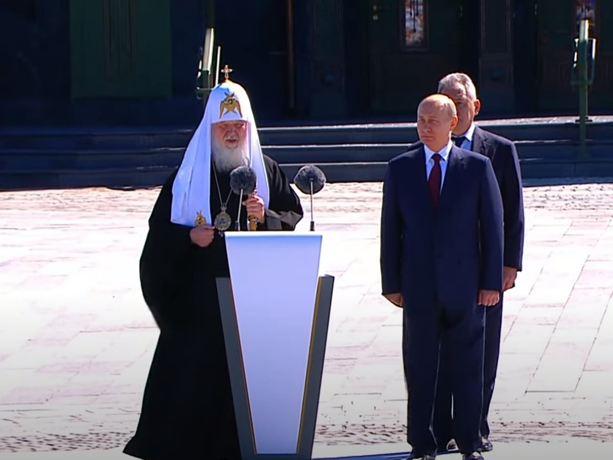 patriarch-kirill-congratulated-russians-on-the-day-of-the-beginning-of-world-war-ii,-thanking-putin