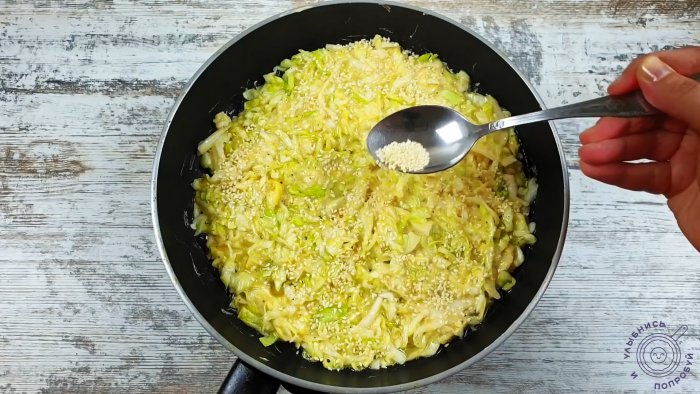 You only need 2 cabbage eggs and 10 minutes to make a wonderful dinner