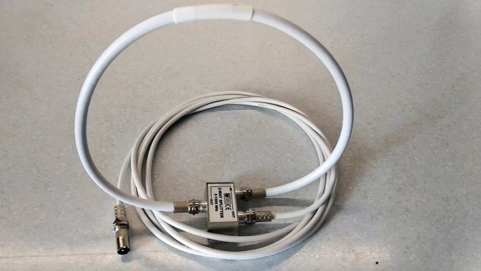 Simple antenna for digital TV with your own hands based on a splitter