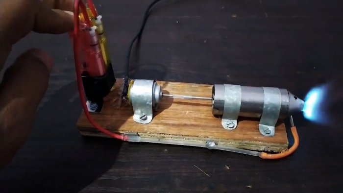 How to make a USB powered mini jet engine and lighter