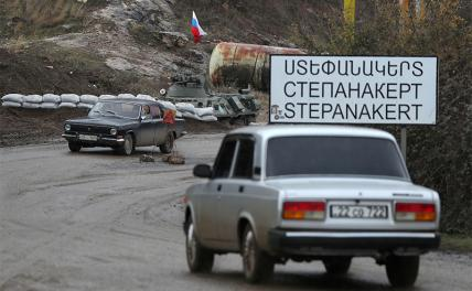 Power in Karabakh passed to the military