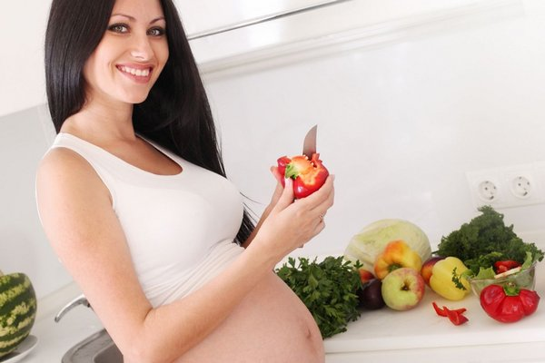 What is good for mothers to eat at the beginning of pregnancy?
