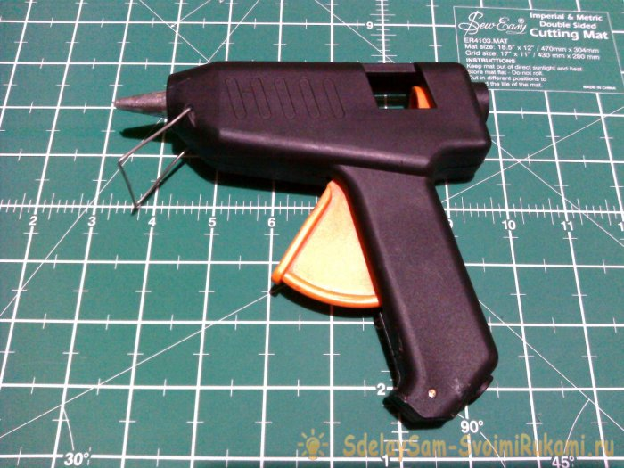 How to fix and convert a 220V to 12V glue gun