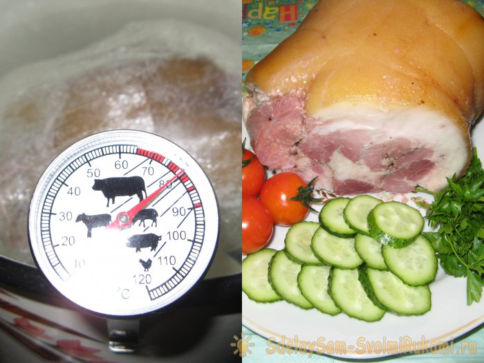 A simple pork shank roll for newcomers to deli meats
