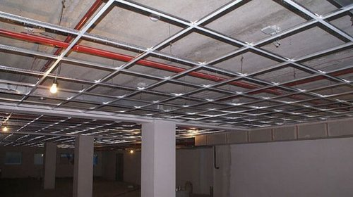 The importance of suspension profiles for a quality ceiling installation