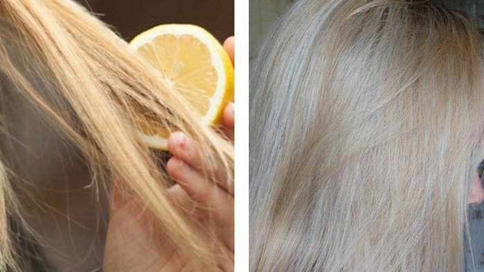 How to lighten hair at home