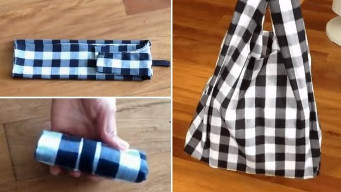 How to sew a roomy and practical canvas bag