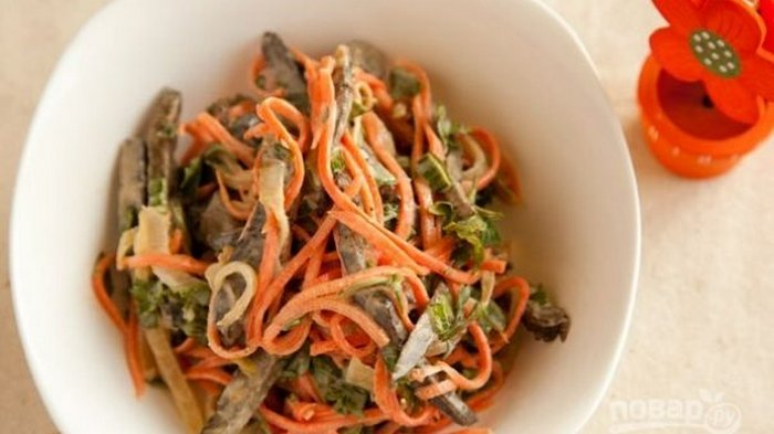Liver and Carrot Salad Recipe
