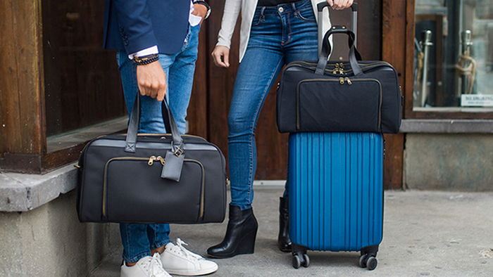 Travel bag - compact and roomy at the same time