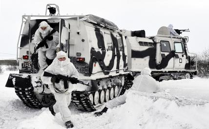 """Winter landing: """"Minus"""" 30 is not a hindrance for the Airborne Forces"""