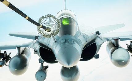 In the photo: French multipurpose fighter Dassault Rafale