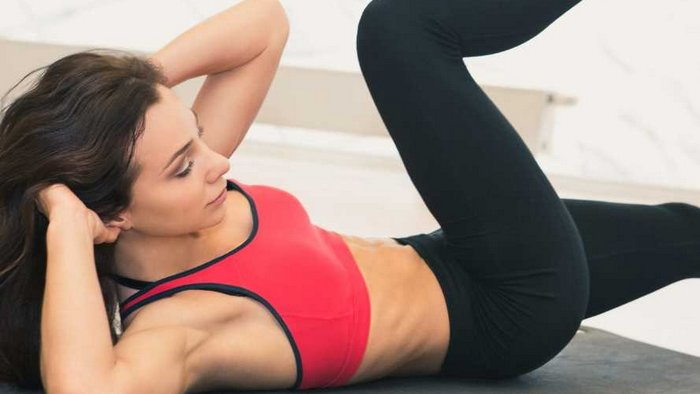 How to do crunches correctly