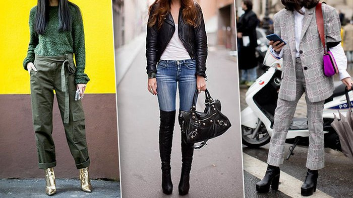 Why you shouldn't tuck your jeans into your boots