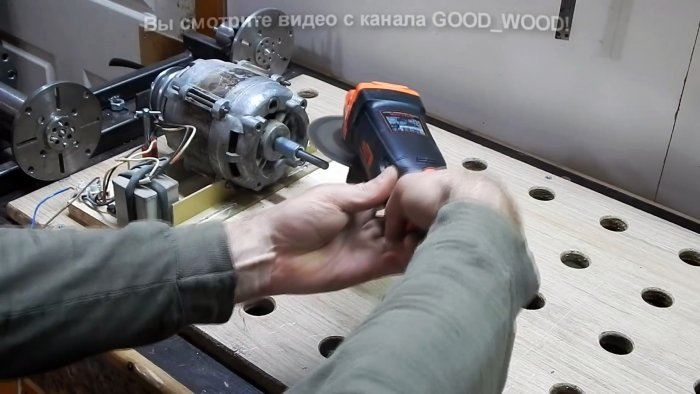 How to lengthen a short shaft of an electric motor without welding and turning