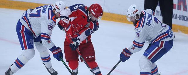 CSKA beat SKA and took the lead 3-0 in the Gagarin Cup semifinal series