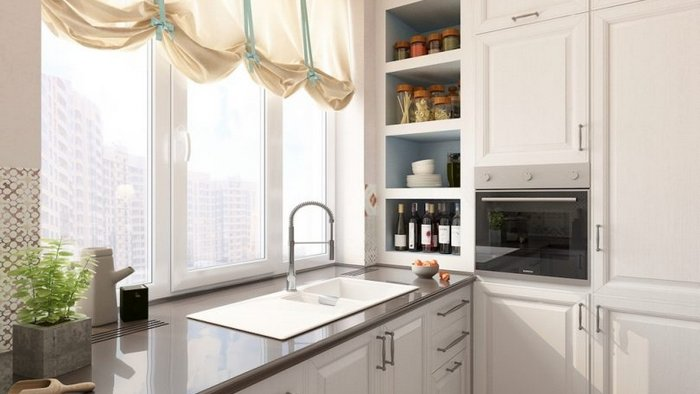 Do I need to install a sink in the kitchen under the window