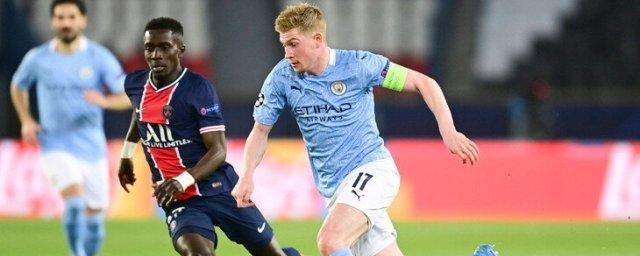 Manchester City beat PSG in the first leg of the Champions League semi-final