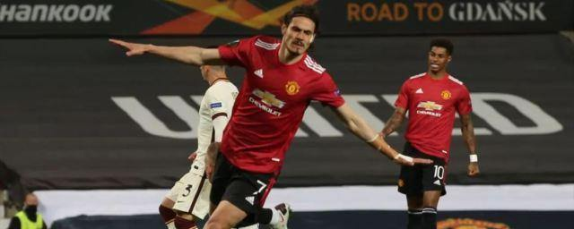 Manchester United scored six goals against Roma in the UEL semi-finals