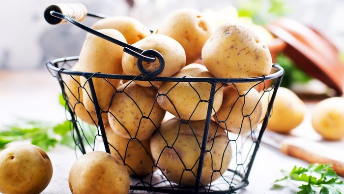 Why grate raw potatoes but not for food