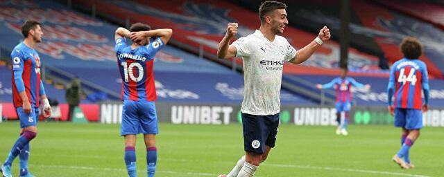 Manchester City beat Crystal Palace and could become champion at Easter