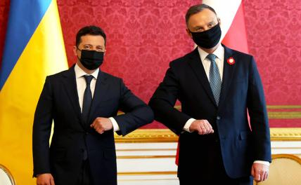 Photo: Ukrainian President Volodymyr Zelenskyy meeting with Andrzej Duda in Warsaw, Poland