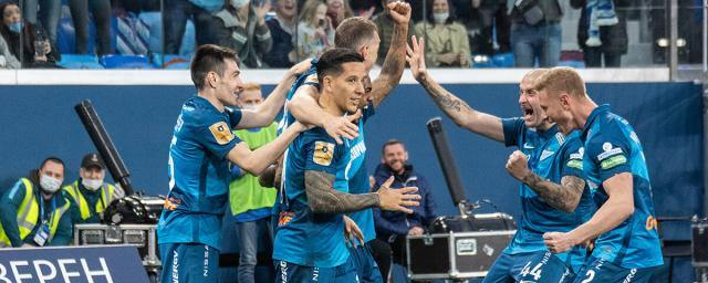 Zenit became the champion of Russia, defeating Lokomotiv