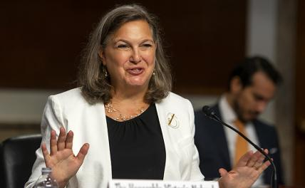 In the photo: Victoria Nuland