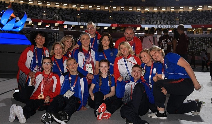 Paralympian of the Russian national team: