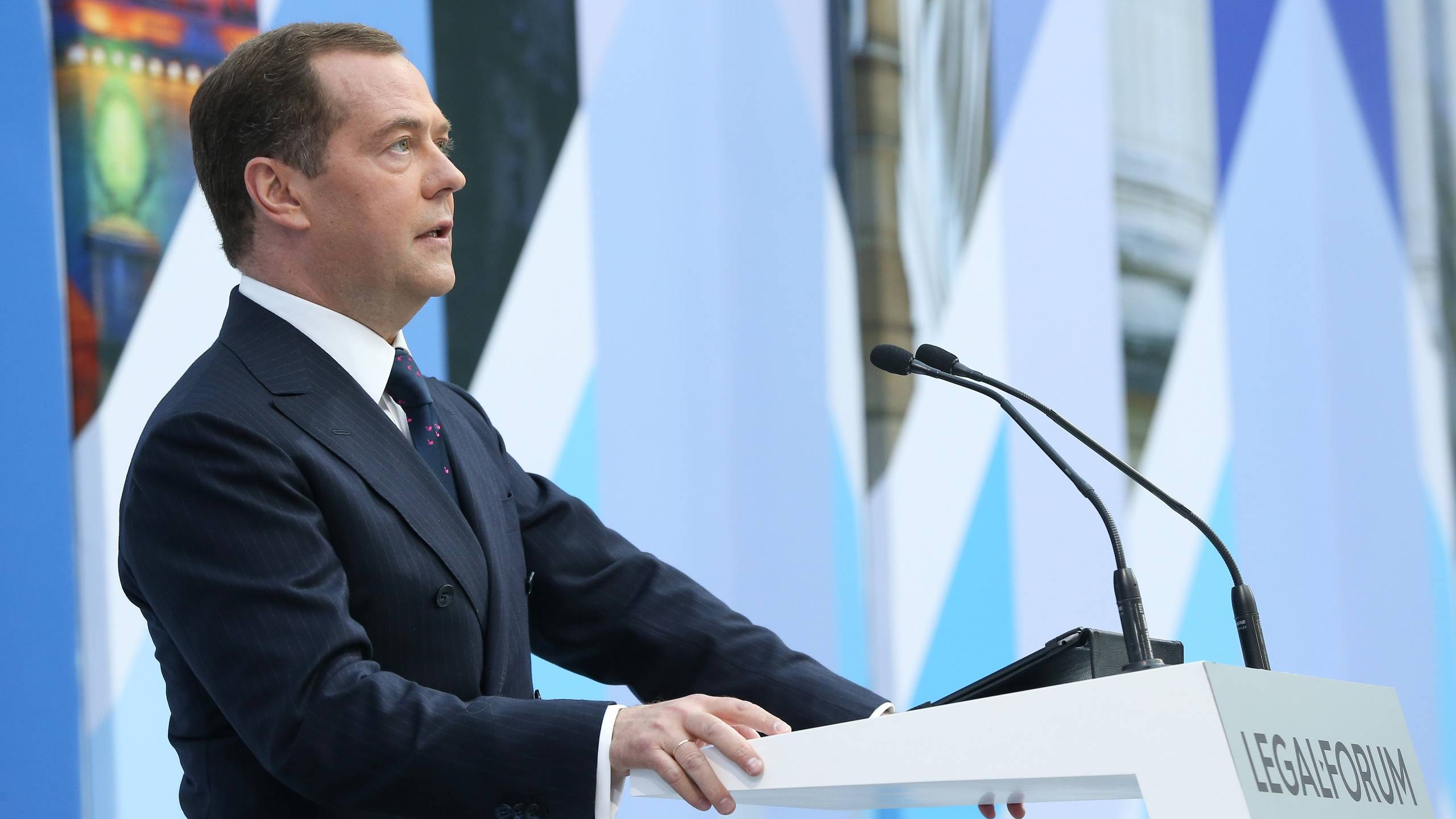 Medvedev said about the meaninglessness of dialogue with
