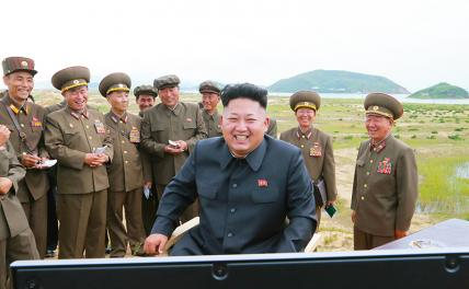 In the photo: North Korean leader Kim Jong-un visited the testing of new tactical missiles