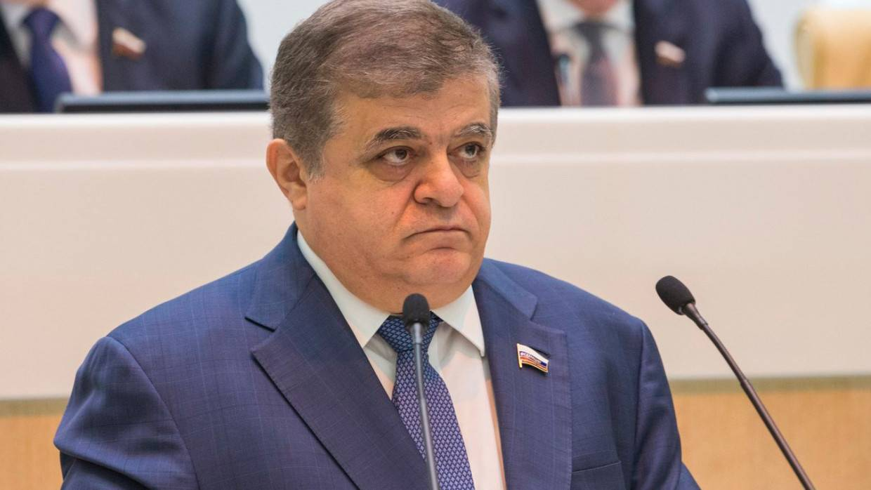 Senator Jabarov outlined a condition for negotiating a peace treaty with Japan