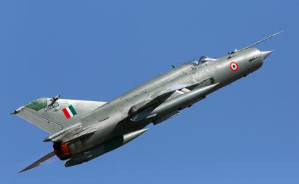 In the photo: MiG-21 fighter.