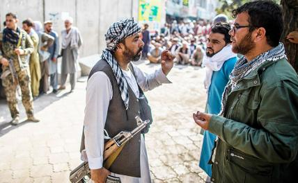 The United States itself created a regime of Islamic fundamentalists in Afghanistan