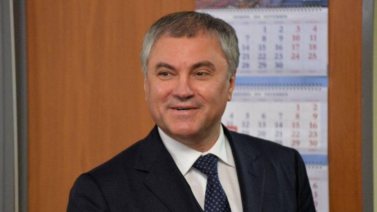 Viacheslav Volodin was elected by a majority of votes to the post of Speaker of the State Duma of the VIII convocation