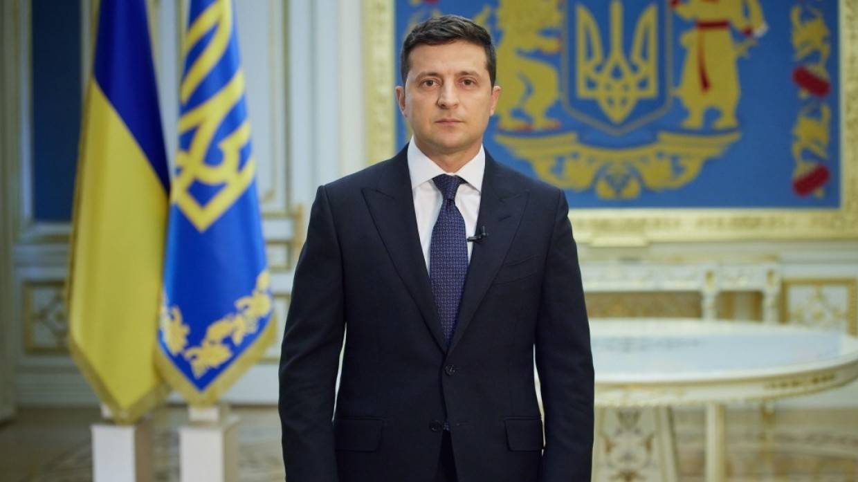 Zelensky moved to state residence for security reasons